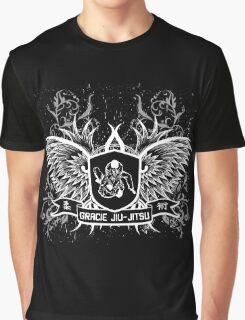 Gracie Jiu Jitsu BJJ (White) Graphic T-Shirt