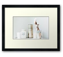 Whisky and Coffee Framed Print
