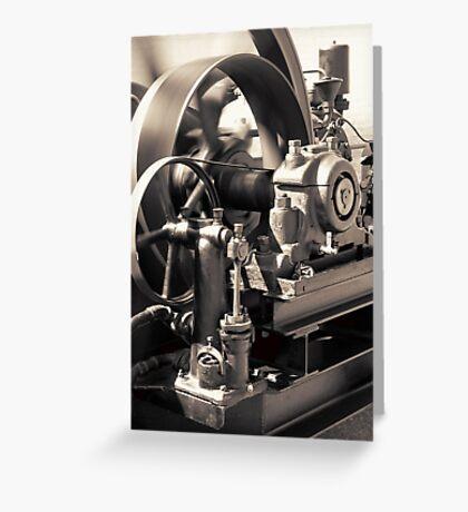 Swiftness of Wheels Greeting Card