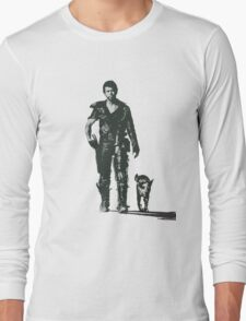 MAD MAX - The Road Warrior Custom Poster Long Sleeve T-Shirt