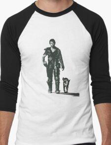 MAD MAX - The Road Warrior Custom Poster Men's Baseball ¾ T-Shirt