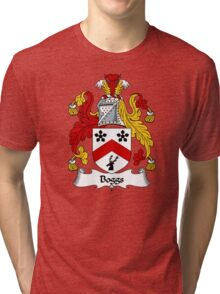 Boggs Coat of Arms / Boggs Family Crest Tri-blend T-Shirt