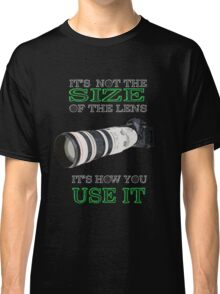 the size of the lens 3 Classic T-Shirt