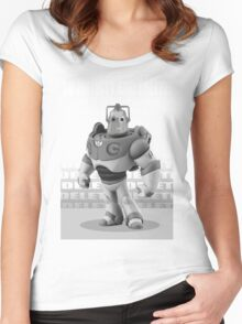CYBER STORY Women's Fitted Scoop T-Shirt