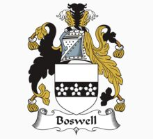 Boswell Coat of Arms / Boswell Family Crest Kids Tee