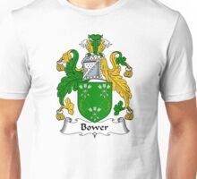 Bower Coat of Arms / Bower Family Crest Unisex T-Shirt