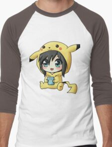 Cute Pikachu Pajama Men's Baseball ¾ T-Shirt