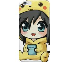 Cute Pikachu Pajama iPhone Case/Skin