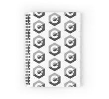 c sharp black lenguage programming c# Spiral Notebook