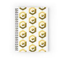 c sharp gold lenguage programming c# Spiral Notebook