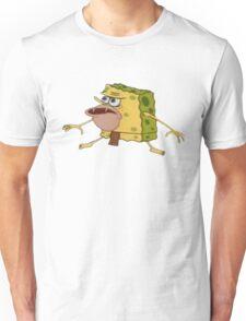 Caveman Spongebob Meme Unisex T-Shirt