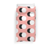 PEACH DOT SHADOW Duvet Cover