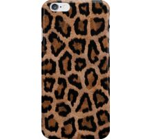 Brown Animal Print iPhone Case/Skin
