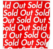 Sold Out - Supreme Repeat Poster