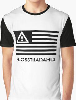 FLOSSTRADAMUS FLAG B&W Graphic T-Shirt