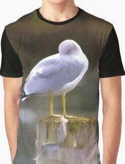 Sleeping Graphic T-Shirt