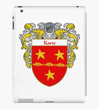 Kane Coat of Arms/Family Crest iPad Case/Skin
