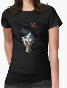 the silence of the monarch Womens Fitted T-Shirt