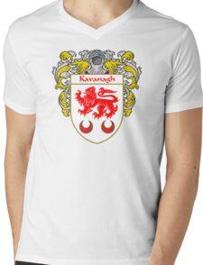 Kavanagh Coat of Arms/Family Crest Mens V-Neck T-Shirt