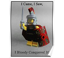 I came, I saw, I bloody conquered it! Poster