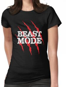 Beast Mode (Claws) Womens Fitted T-Shirt