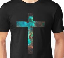Green Galaxy Cross T-Shirt