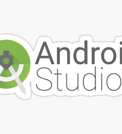 android studio logo Sticker