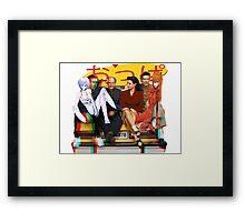 Seinfeld Genesis Framed Print