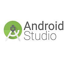 android studio logo Photographic Print
