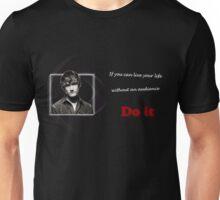 Bo Burnham Live life without an audience Unisex T-Shirt
