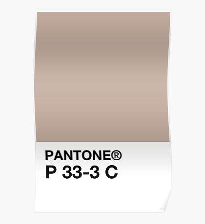 PANTONE P 33-3 C Poster