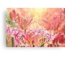 Healing Tulip Garden 2 Canvas Print