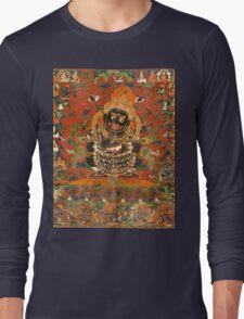 Mahakala Protector of the tent Long Sleeve T-Shirt