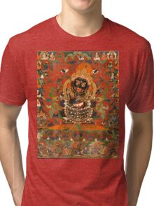 Mahakala Protector of the tent Tri-blend T-Shirt