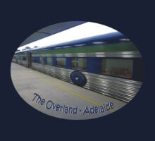 The Overland in Adelaide - Tshirt by glennmp