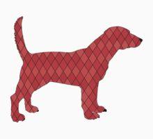 Red Beagle Baby Tee