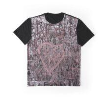 MuriFuri Heart Graffiti Graphic T-Shirt