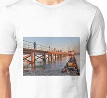 Hagnau Jetty at Sunset - Lake Constance Unisex T-Shirt