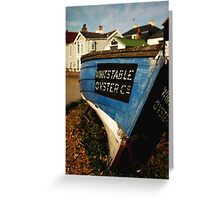 Whitstable Oyster Company Greeting Card