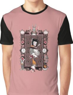 portrait of a mad hatter Graphic T-Shirt
