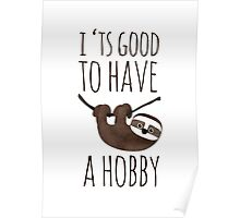little sloth /Agat/ Poster