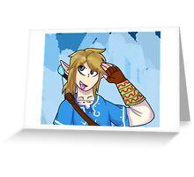 Wii U Link Greeting Card