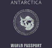Antarctica World Citizien Passport Unisex T-Shirt