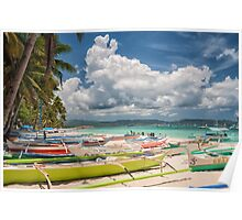 Boracay Beach during Day Time Poster