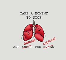 Take a Moment to Stop and Breathe The Oxygen (Cute vers.) Unisex T-Shirt