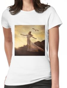 Spirits Soaring Womens Fitted T-Shirt