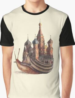 The Snail's Daydream Graphic T-Shirt