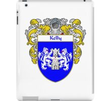 Kelly Coat of Arms/Family Crest iPad Case/Skin