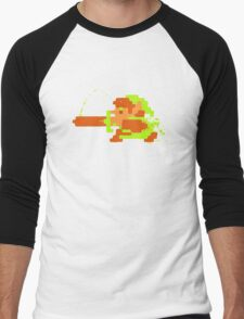 Link in action Men's Baseball ¾ T-Shirt