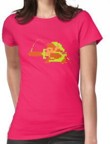 Link in action Womens Fitted T-Shirt